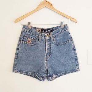 Vintage Cruel Girl Blue Jean Shorts